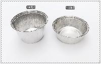 140深 浅圆形锡纸碗铝箔碗 一次性打包锡纸盒 烧烤外卖快餐盒
