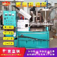 供应江西抚州油菜籽榨油机 自动螺旋榨油机 省工省时一次榨净