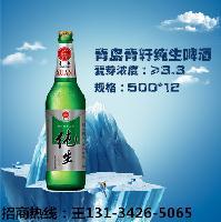 青岛青轩啤酒招商代理 8度纯生风味啤酒招商代理