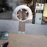 诸城宏诺供应HNKJ150电磁加热榨油芝麻全自动炒货机